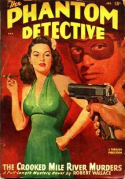 Phantom Detective 74 - Gun