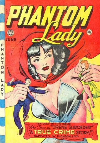 Phantom Lady 18 - Matt Baker