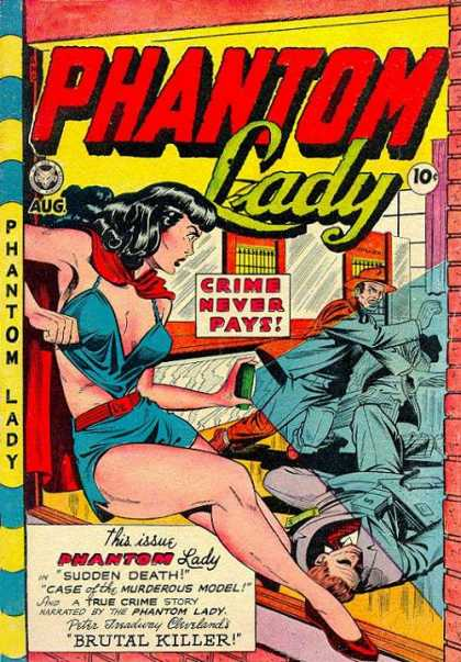 Phantom Lady 19 - Woman - Man - War - Street - Body - Matt Baker