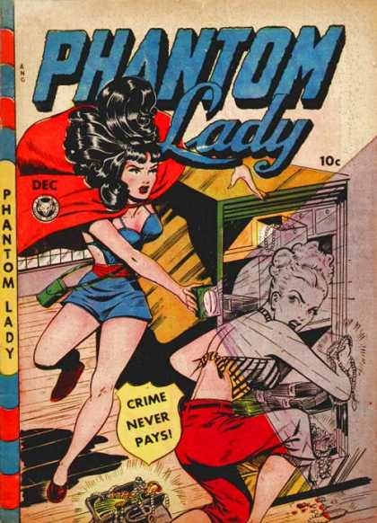 Phantom Lady 21 - Matt Baker