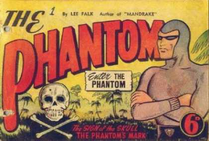 Phantom 1 - Superhero - Adventure - Skull - Tropical Setting - Palm Trees - Dave Gibbons, John Cassaday