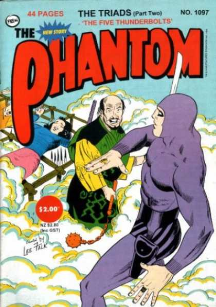 Phantom 1097 - The Triads Part Two - The Five Thunderbolts - Mace - Prisoners - Smoke