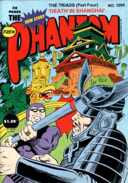 Phantom 1099 - Death In Shangha - 36 Pages - New Story - Man - Building