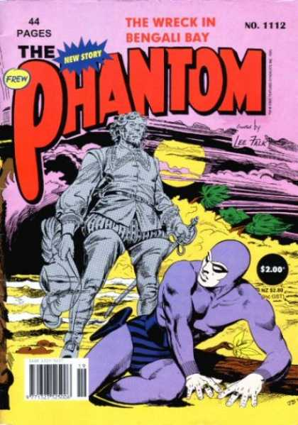 Phantom 1112 - The Wreck In Bengali Bay - No 1112 - Sword - Blowing Wind - Lee Falk
