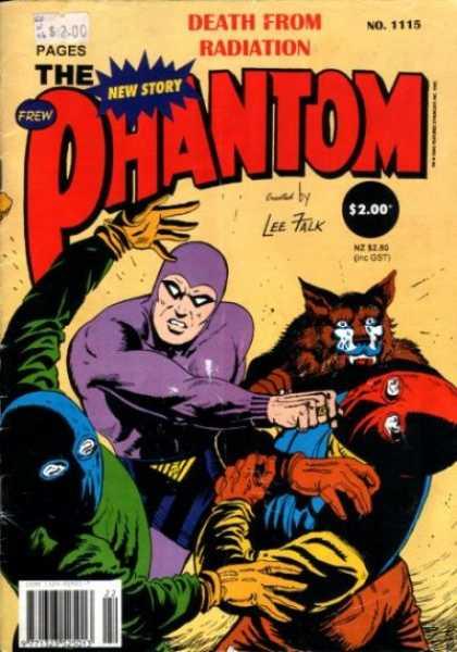 Phantom 1115 - Death - Radiation - Lee - Falk - New