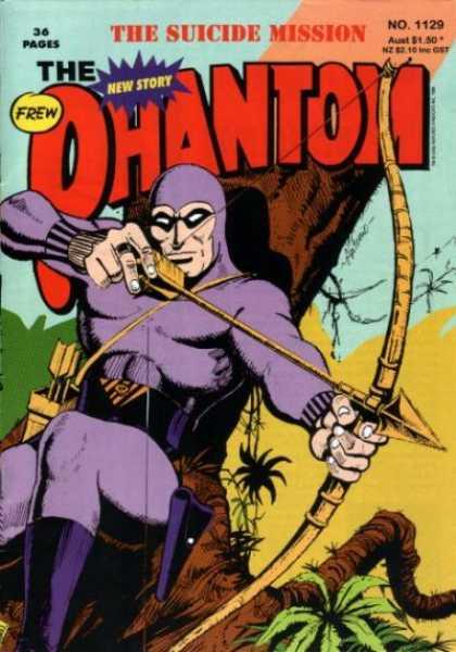 Phantom 1129 - Suicide Mission - New Story - Frew - Arrow - Bow