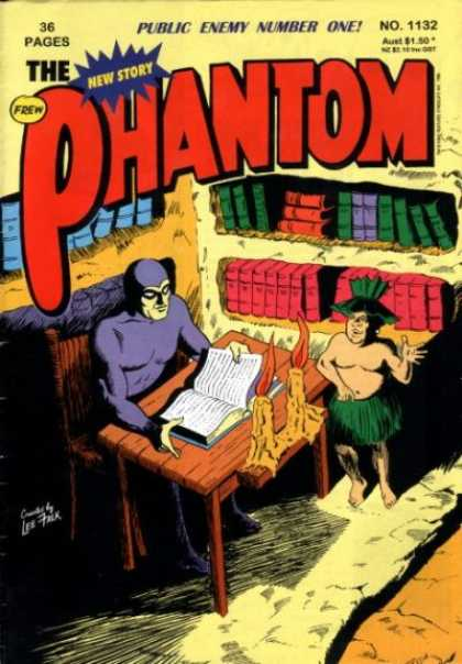 Phantom 1132 - Public Enemy Number One - New Story - Frew - Book - No1132