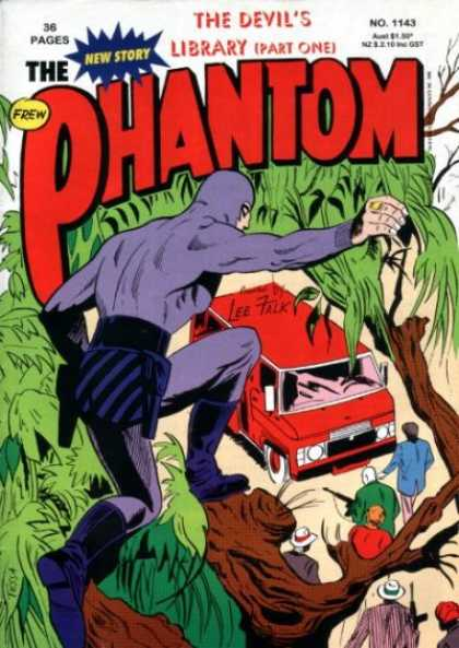 Phantom 1143 - Frew - Devils Library - Lee Falk - Part One No 225