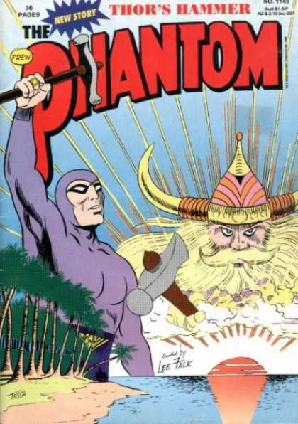 Phantom 1145 - 36 Pages - Tne New Story - Thors Hammer - Trees - Frew