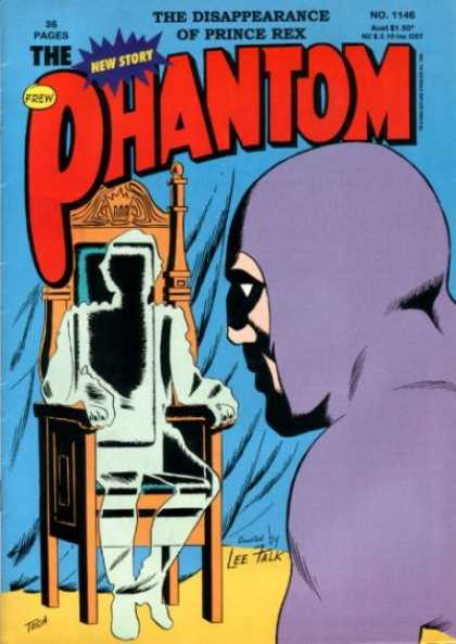 Phantom 1146 - King - Dissappearance Of Prince - New Story - Superman - Mystery