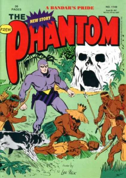 Phantom 1149 - A Bandars Pride - New Story - Jungle - Cave - Natives
