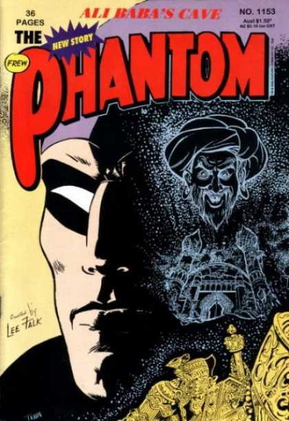 Phantom 1153 - Ali Babas Cave - Thief - Mask - Turban - 36 Pages