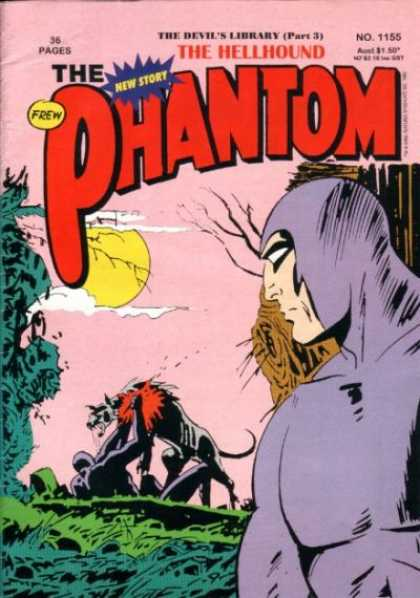 Phantom 1155 - The Hellhound - Purple Suit - No 1155 - The Devils Library Part 3 - Sunset