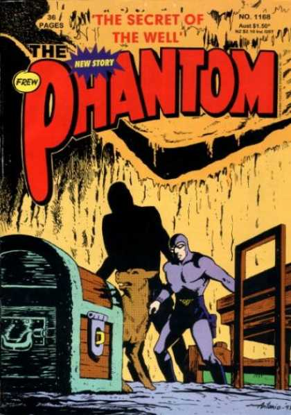 Phantom 1168 - The Secret Of The Well - Big Dog - Chest - Underground Room - Shadow