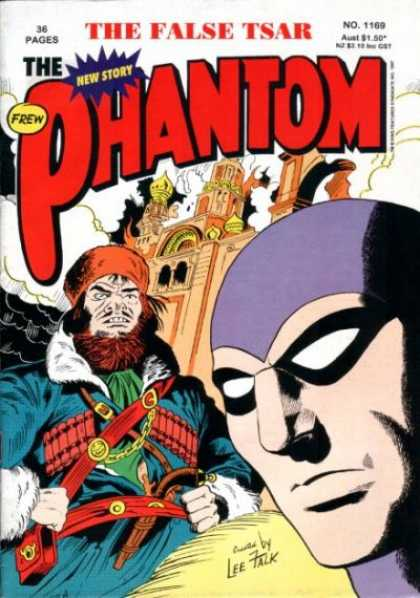 Phantom 1169 - The False Tsar - 36 Pages - The New Story - Castle - Frew