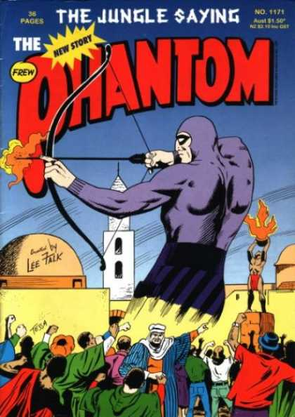 Phantom 1171 - Bow And Arrow - Flames - Arab - Mosque - Angry Crowd