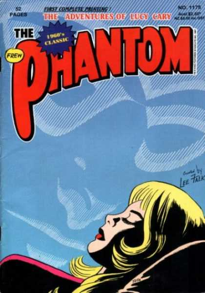 Phantom 1175 - Blue - The Adventures Of Lucy Gary - 1960s Classic - Frew - Lee Falk
