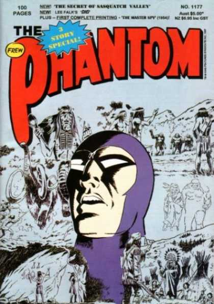 Phantom 1177 - 3 Story Special - The Secre Of The Sasquatch Valley - Shaman - Elephant - Man