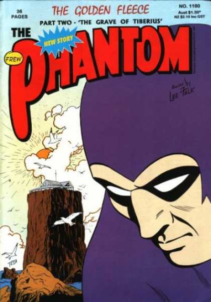 Phantom 1180 - New Story - Golden Flee - Frew - Lee Falk - Grave Of Tiberius