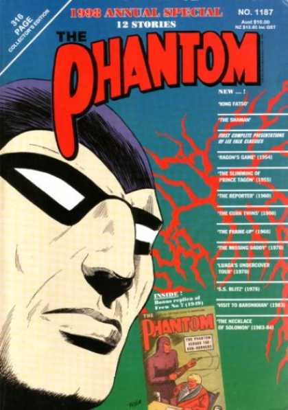 Phantom 1187 - 1998 Annual Special - Collectors Edition - 316 Page - Superhero - No 1187