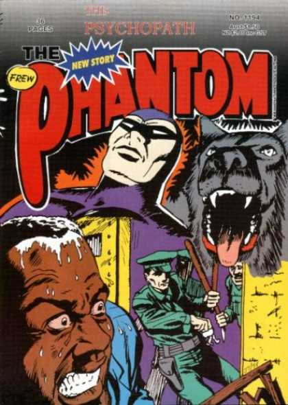 Phantom 1194 - New Story - The Psychopath - Policemen - Wolf - Costume