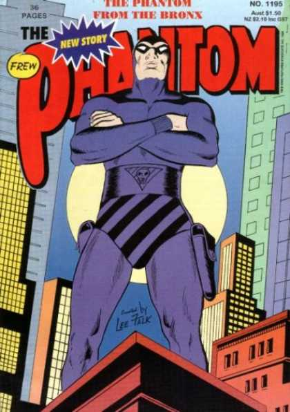 Phantom 1195 - Frew - From The Bronx - Buildings - City - Superhero