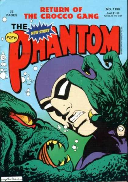 Phantom 1198 - Sea Lizard - Scratch - Water Bubble - Mask - Fury