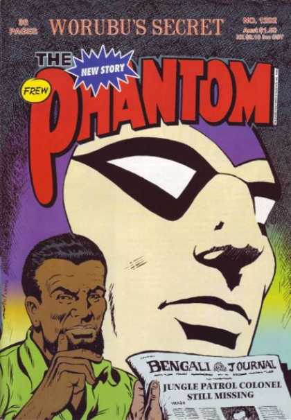 Phantom 1202 - Worubus Secret - Mask - Man - New Story - Newspaper