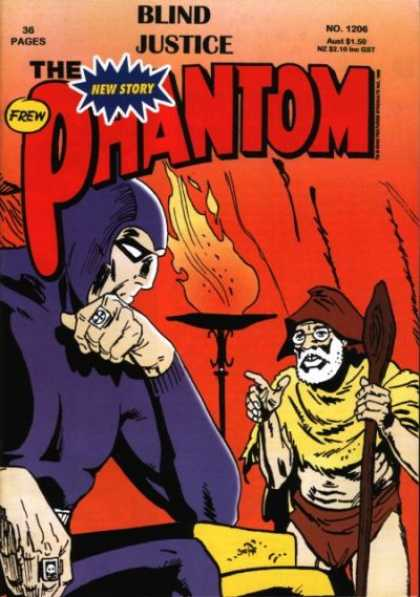 Phantom 1206 - Flame - Old Man - Red - Villian - Sitting