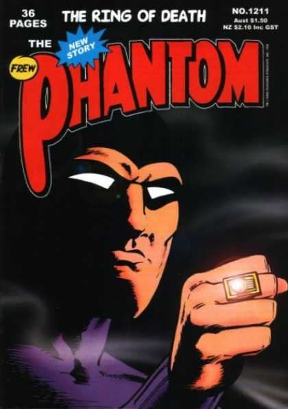 Phantom 1211 - Pages - Story - New - Ring - Masked