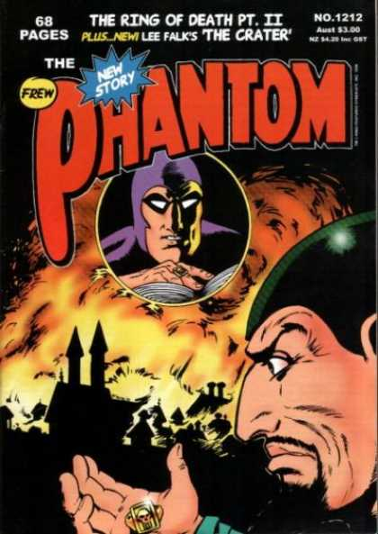 Phantom 1212 - Lee Falk - The Crater - Ring Of Death Part Ii - Frew - No 1212