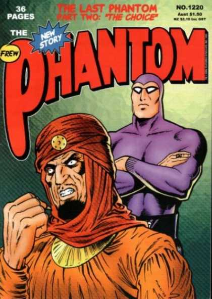 Phantom 1220 - Frew - Part Two - Clenched Teeth - Arab Man - Crossed Arms