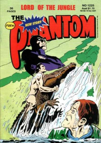 Phantom 1225 - Phantom - New Story - Wrestling Alligator - Lord Of The Jungle - Rescue Man