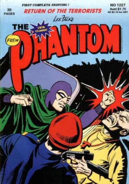 Phantom 1227 - 36 Pages - Frew - Gun - First Complete Printing - Return Of The Terrorist