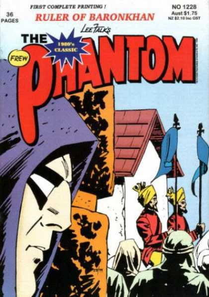 Phantom 1228 - Ruler Of Baronkhan - First Complete Printing - No 1228 - Guards - Blue Flags