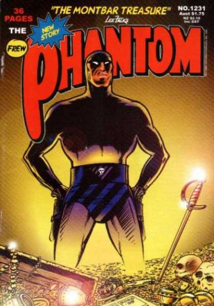 Phantom 1231 - The Phantom - The Montbar Treasure - No 1231 - 36 Pages - New Story