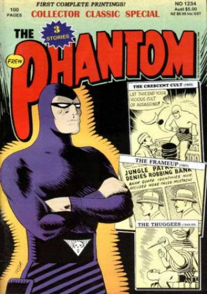 Phantom 1234 - Collector Classic Special - First Complete Printings - 100 Pages - Superhero - The Crescent Cult