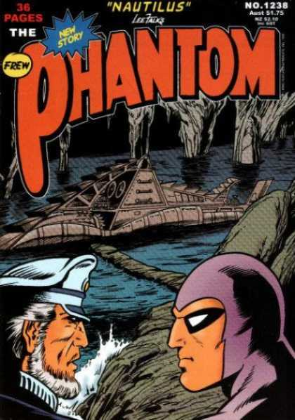 Phantom 1238 - 36 Pages - New Story - Nautilus - Lee Falk - Submarine