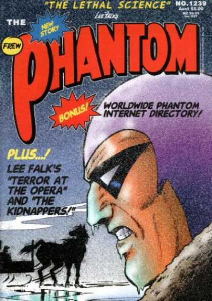 Phantom 1239 - Bonus - The Lethal Science - Frew - Lee Falk - Horses