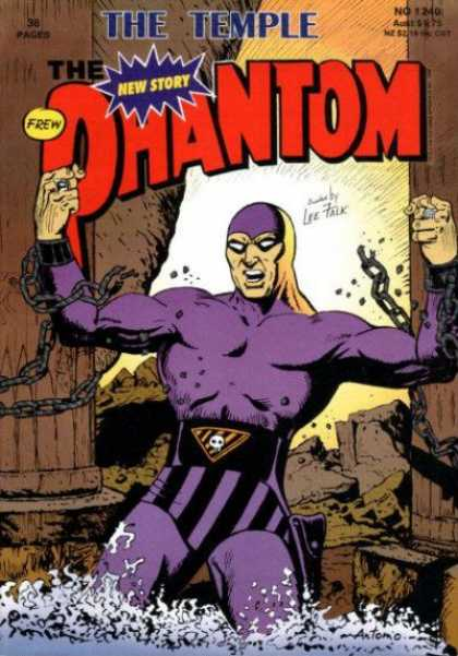 Phantom 1240 - The Temple - Chains - Strength - Superhero - Water