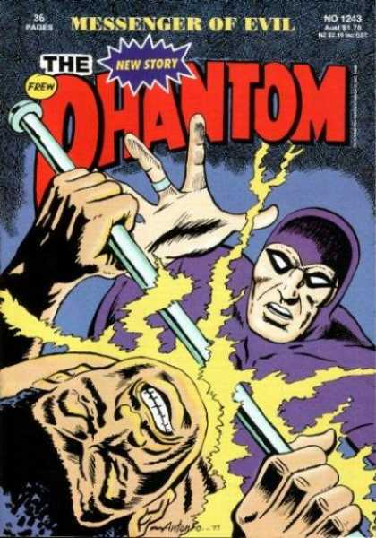 Phantom 1243 - Black Mask - New Story - Frew - Evil - Messenger