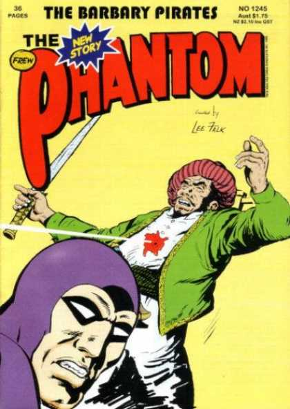 Phantom 1245 - Barbary Pirates - New Story - 36 Pages - Lee Falk - Frew