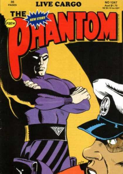 Phantom 1247 - Frew - Live Cargo - Superhero - Hat - 36 Pages