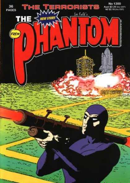 Phantom 1300 - The Terrorists - New Story - Costume - Bazooka - Rocket - Jim Shepherd