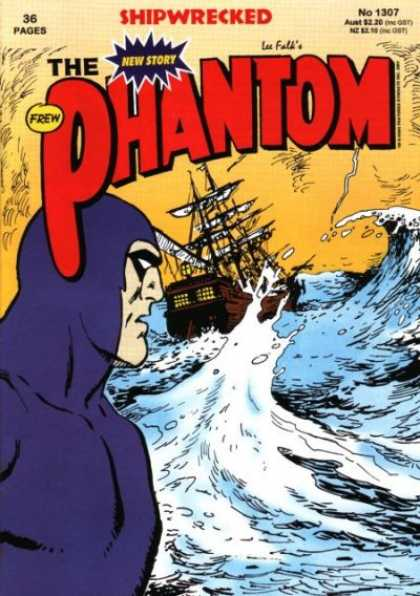 Phantom 1307 - Shipwrecked - Ship - Ocean - Waves - Crashing - Jim Shepherd