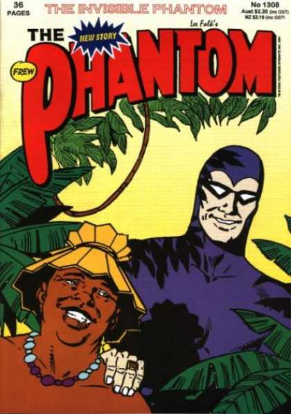 Phantom 1308 - Ring - Tribal - Plants - Cap - Mask - Jim Shepherd