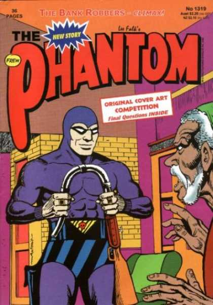 Phantom 1319 - The Bank Robbers - Costune - Superhero - Original Cover Art Competition - Gun