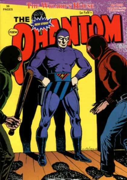 Phantom 1320 - Old School - Menace - Blue Superhero - Night Watch - Evil Beware