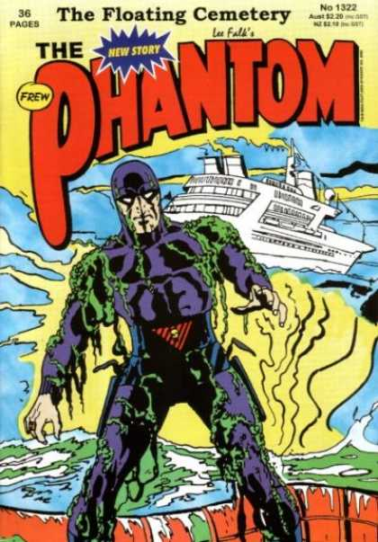 Phantom 1322 - Ship - Boat - Water - Seaweed - New Story - Jim Shepherd