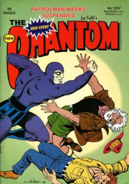 Phantom 1337 - Phantom - Punching A Man - Unconcious Man - Man With Beard - Falling Hat